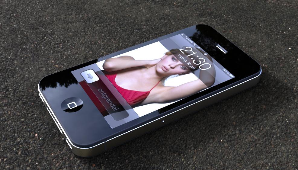 蘋果手機渲染效果圖